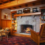 Home Staging - Rustic Living Room